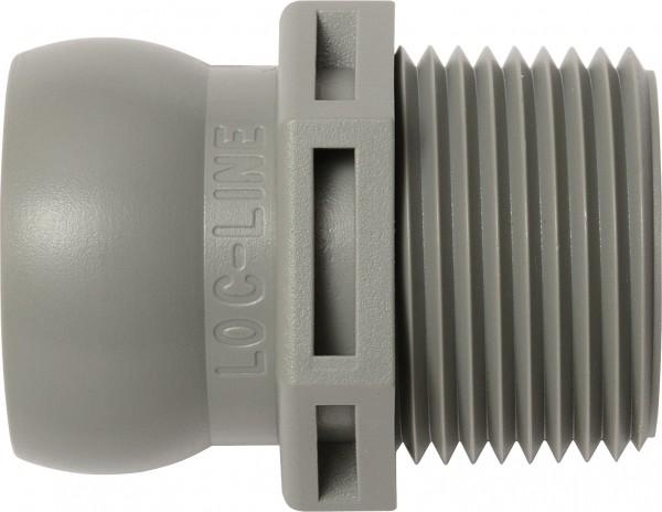 "L61505 - NPT-Anschluss 3/4"", grau"