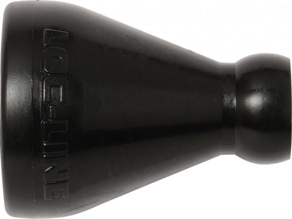 """L51821 S- Reduzierung auf 1/4"""", schwarz"""