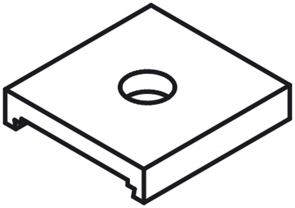 Verriegelungsplatte für X80075