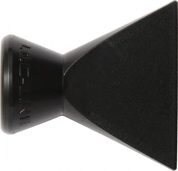 L41407S - Breitstrahldüse 25mm, schwarz