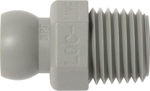"""L49426G - NPT-Anschluss 1/4"""", grau"""