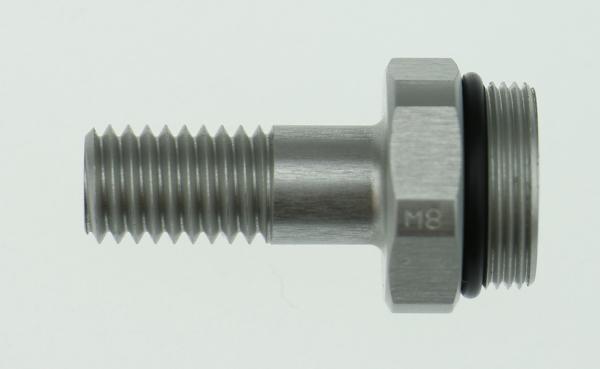 C8GAML - Gewindeanschluss Einseitig M8 - 30mm