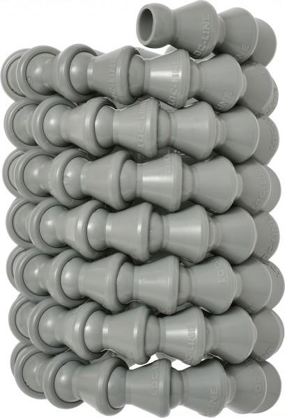 L49419G - 1,5m Schlauch gerollt, grau
