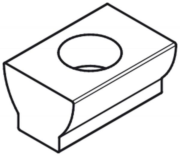 X60320 - Ersatz-Stahlprofil für Doppelkeilspanner